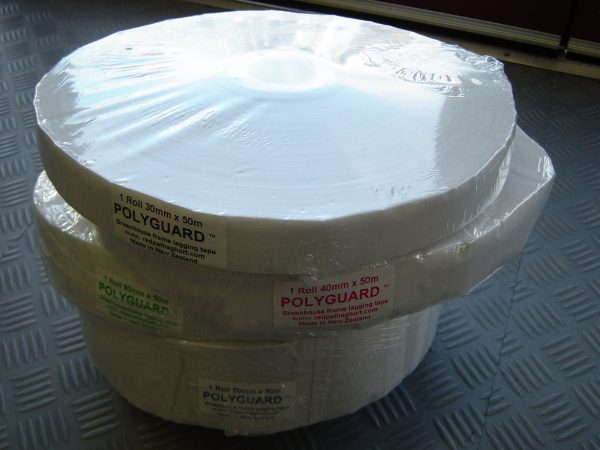 frame protection tape for greenhouses polyguard nz